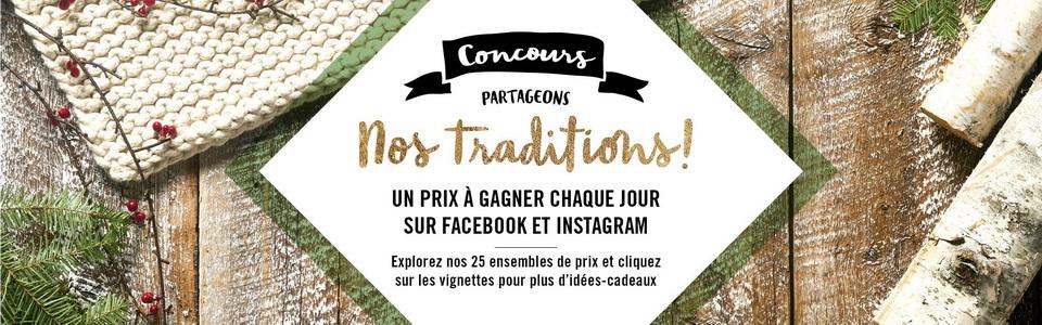 12382 - Concours Calendrier de l'avent de Renaud-Bray: 25 paniers-cadeaux pour 25 jours