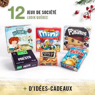 12394 - Concours Calendrier de l'avent de Renaud-Bray: 25 paniers-cadeaux pour 25 jours