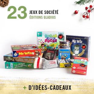 12405 - Concours Calendrier de l'avent de Renaud-Bray: 25 paniers-cadeaux pour 25 jours
