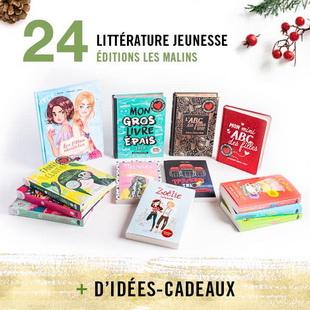 12406 - Concours Calendrier de l'avent de Renaud-Bray: 25 paniers-cadeaux pour 25 jours
